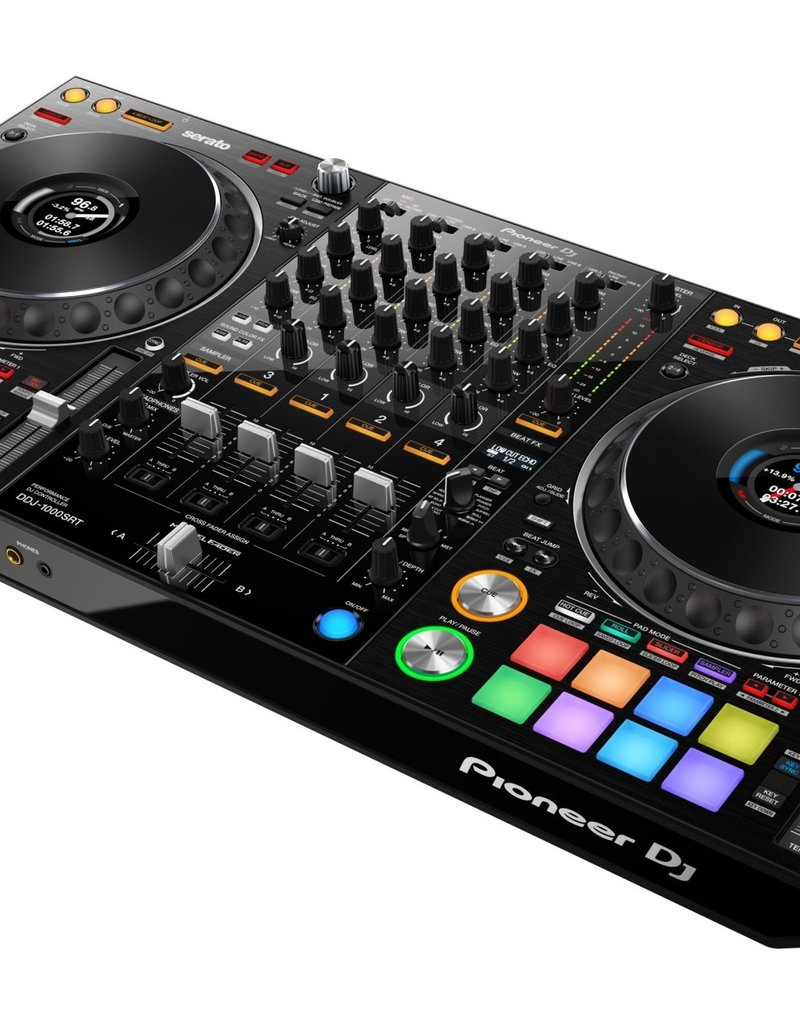 DDJ-1000SRT 4-Channel Performance DJ Controller for Serato DJ Pro (Black) - Pioneer DJ