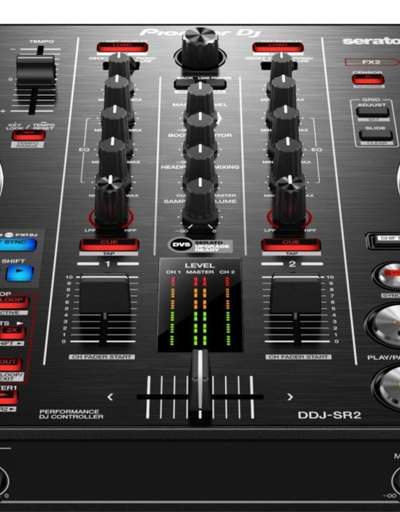 DDJ-SR2 Portable 2-Channel Controller for Serato DJ Pro - Pioneer DJ