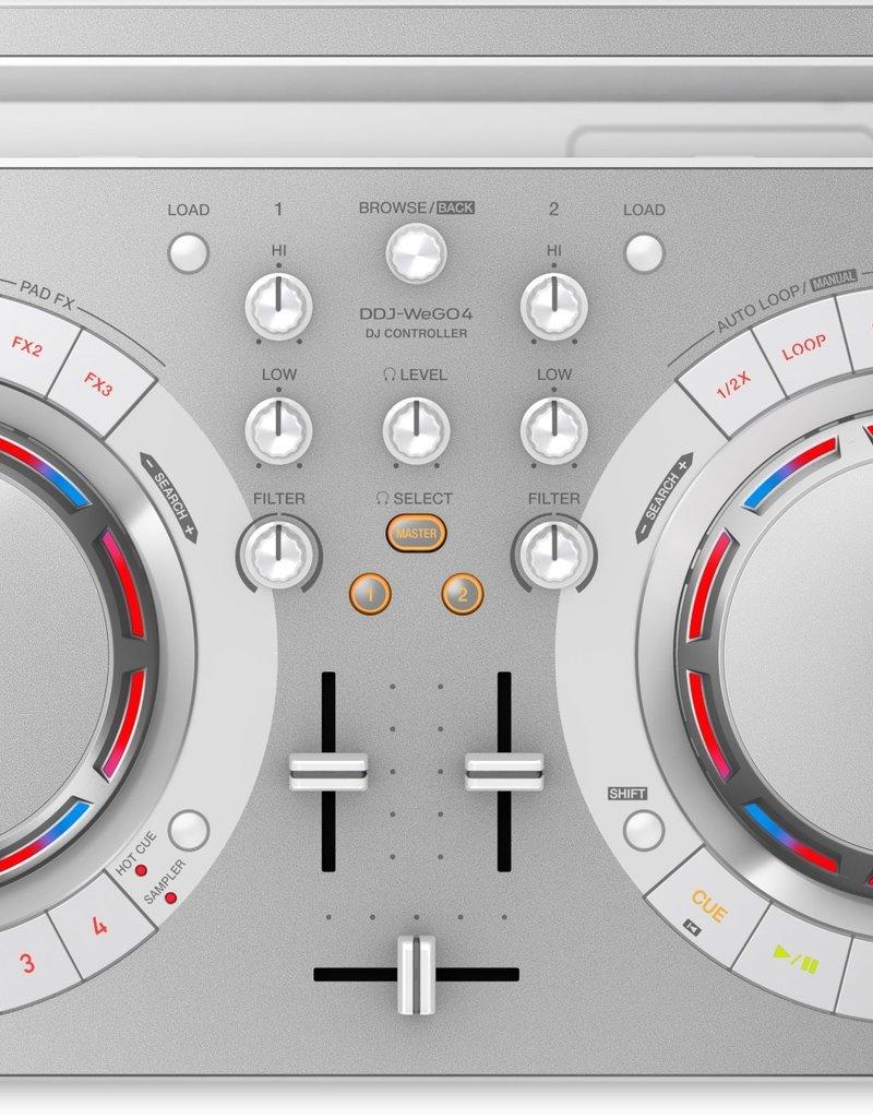 DDJ-WeGO4-W Compact DJ Software Controller (White) - Pioneer DJ