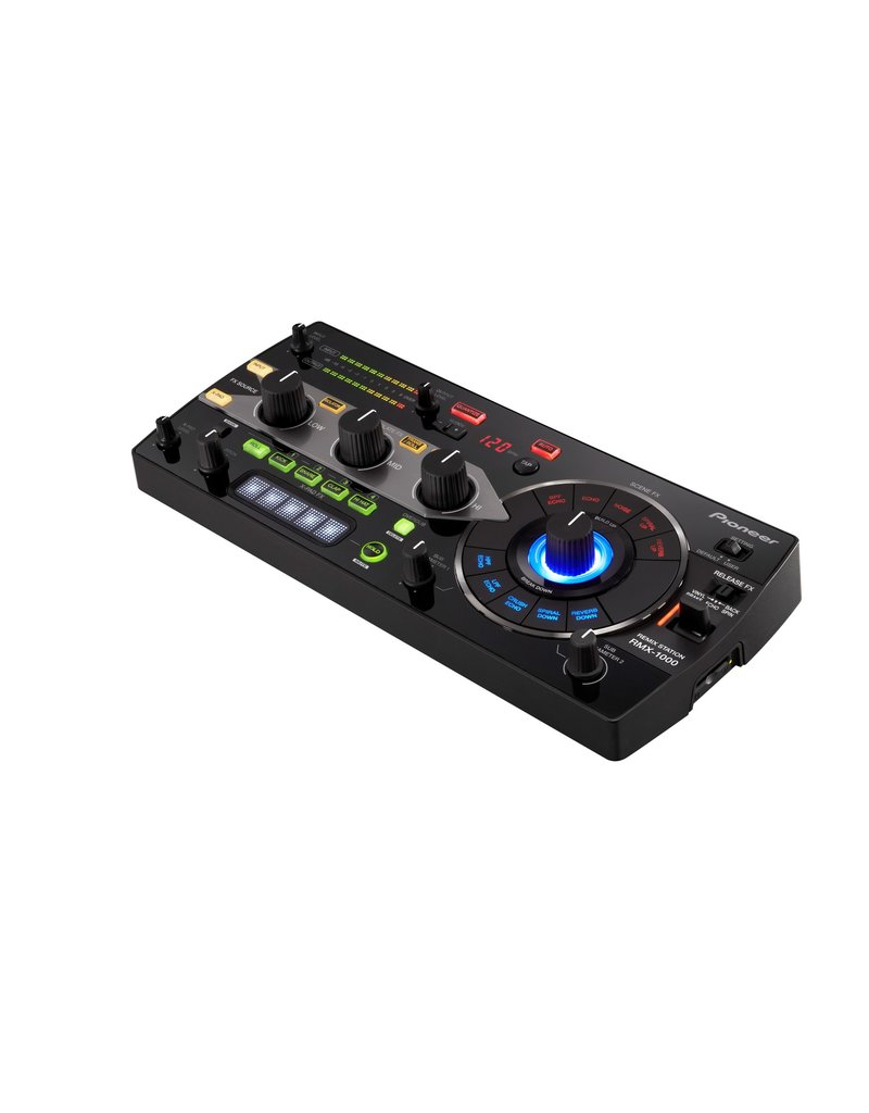 RMX-1000 3-in-1 Remix Station for Editing, Performing and Controlling for VST/AU/RTAS Plug-ins (Black) - Pioneer DJ