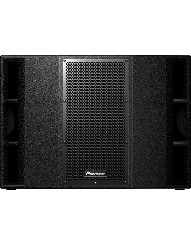 """XPRS-215S Twin 15"""" Active Subwoofer w/ Wood Enclosure - Pioneer DJ"""