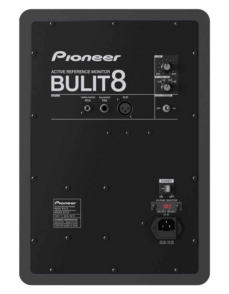 "***Pre Order*** BULIT8 8"" Active Reference Monitor (Single) - Pioneer DJ"