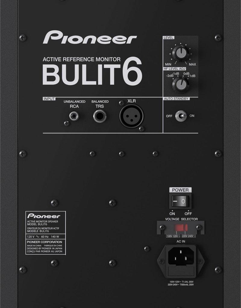 "BULIT6 6"" Active Reference Monitor (Single) - Pioneer DJ"