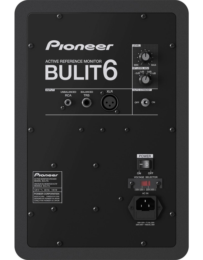 "BULIT6 6"" Active Reference Monitor (Single) - Pioneer DJ"