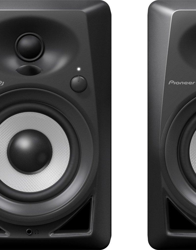 """Pioneer DJ DM-40BT Black 4"""" Desktop Monitor Speakers (Pair) with Bluetooth"""