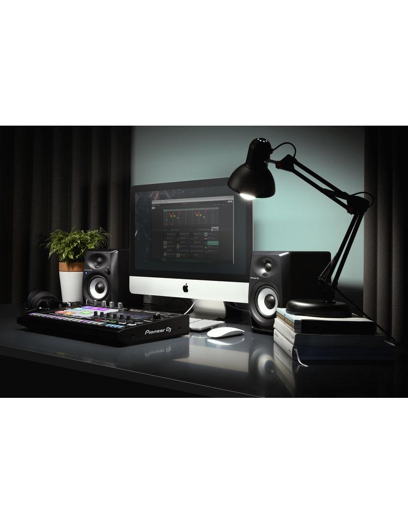 """DM-40BT Black 4"""" Desktop Monitor Speakers (pair) Bluetooth - Pioneer DJ"""