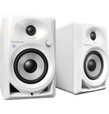 """DM-40BT White 4"""" Desktop Monitor Speakers (pair) Bluetooth - Pioneer DJ"""