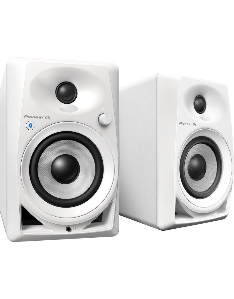 """DM-40BT White 4"""" Desktop Monitor Speakers (pair) - Pioneer DJ"""