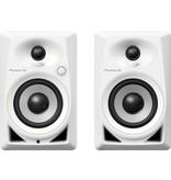 "DM-40 White 4"" Compact Active Monitor Speaker (pair) - Pioneer DJ"