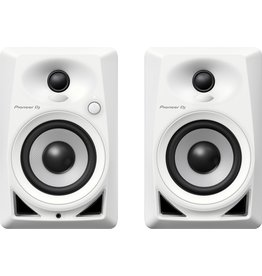 "Pioneer DJ DM-40 White 4"" Compact Active Monitor Speakers (Pair)"