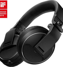 HDJ-X5-K Over Ear DJ Headphones Black - Pioneer DJ