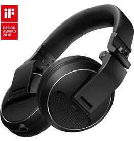 HDJ-X5 Over Ear DJ Headphones Black - Pioneer DJ