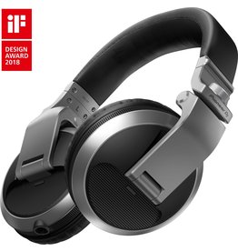 ***Limited Stock Shipping Early July*** HDJ-X5-S Over Ear DJ Headphones Silver - Pioneer DJ