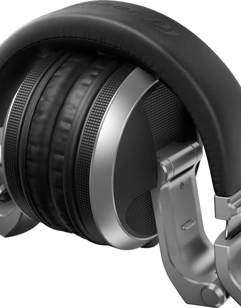 HDJ-X5-S Over Ear DJ Headphones Silver - Pioneer DJ