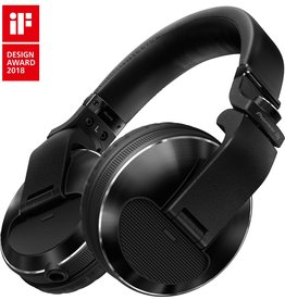 HDJ-X10-K Black Flagship Professional Over-Ear DJ Headphones - Pioneer DJ