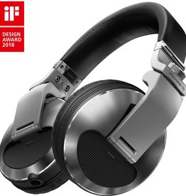 ***Limited Stock Shipping In July*** HDJ-X10-S Silver Flagship Professional Over-Ear DJ Headphones - Pioneer DJ