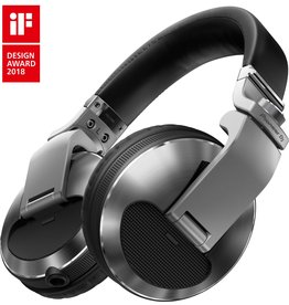 HDJ-X10-S Silver Flagship Professional Over-Ear DJ Headphones - Pioneer DJ