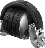 HDJ-X10-S Silver Flagship Professional Over-Ear DJ Headphones - Pioneer DJ