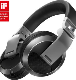HDJ-X7-S Silver Professional over-ear DJ headphones - Pioneer DJ