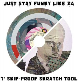 "Cut & Paste Zarecord / Just Stay Funky Like Za Split 7"" Scratch Record - Cut & Paste Records"