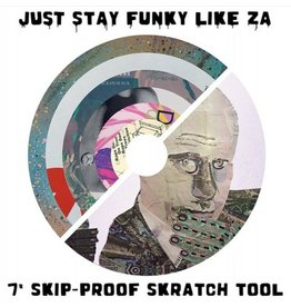 "Cut & Paste Zarecord - Just Stay Funky Like Za - 7"" Scratch Record - Cut & Paste Records"