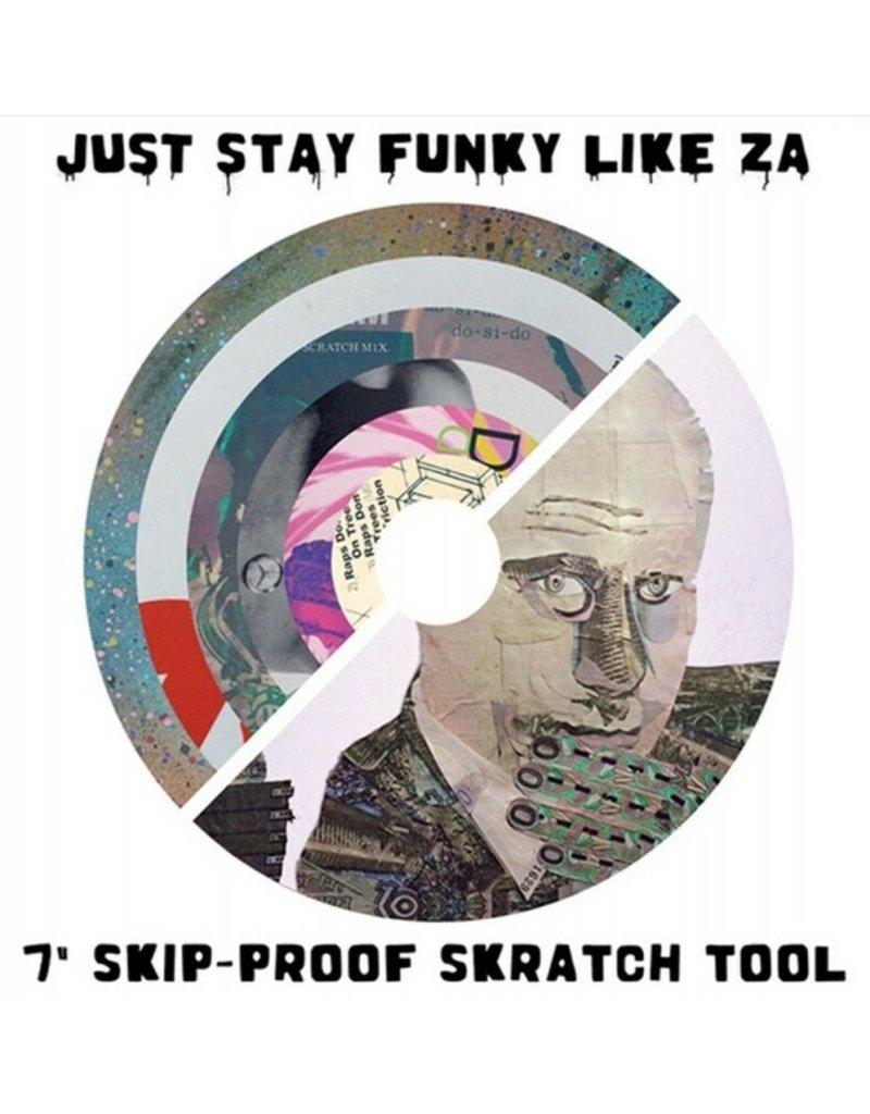 "Cut & Paste Zarecord - Just Stay Funky Like Za - 7"" Scratch Record - Cut & Paste Records"