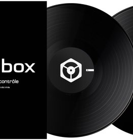 "12"" Black Control Vinyl for Rekordbox DJ (Pair)- Pioneer DJ"