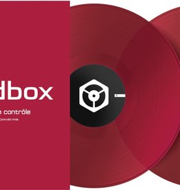 "12"" Red Control Vinyl for Rekordbox DJ (Pair)- Pioneer DJ"
