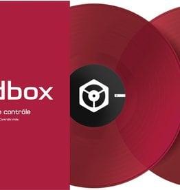 """12"""" Red Control Vinyl for Rekordbox DJ (Pair)- Pioneer DJ"""