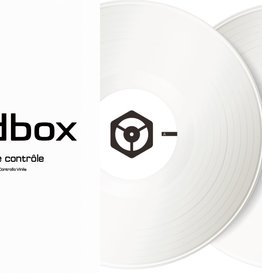 "12"" White Control Vinyl for Rekordbox DJ (Pair)- Pioneer DJ"