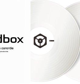 "12"" White Control Vinyl for Rekordbox DJ (Pair)- Pioneer DJ"