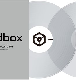 "12"" Clear Control Vinyl for Rekordbox DJ (Pair)- Pioneer DJ"