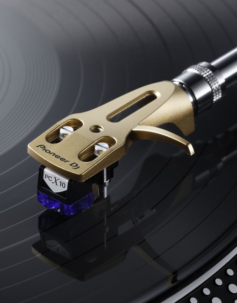PC-HS01-N Professional Pioneer DJ Branded Headshell for Turntable (Gold) - Pioneer DJ