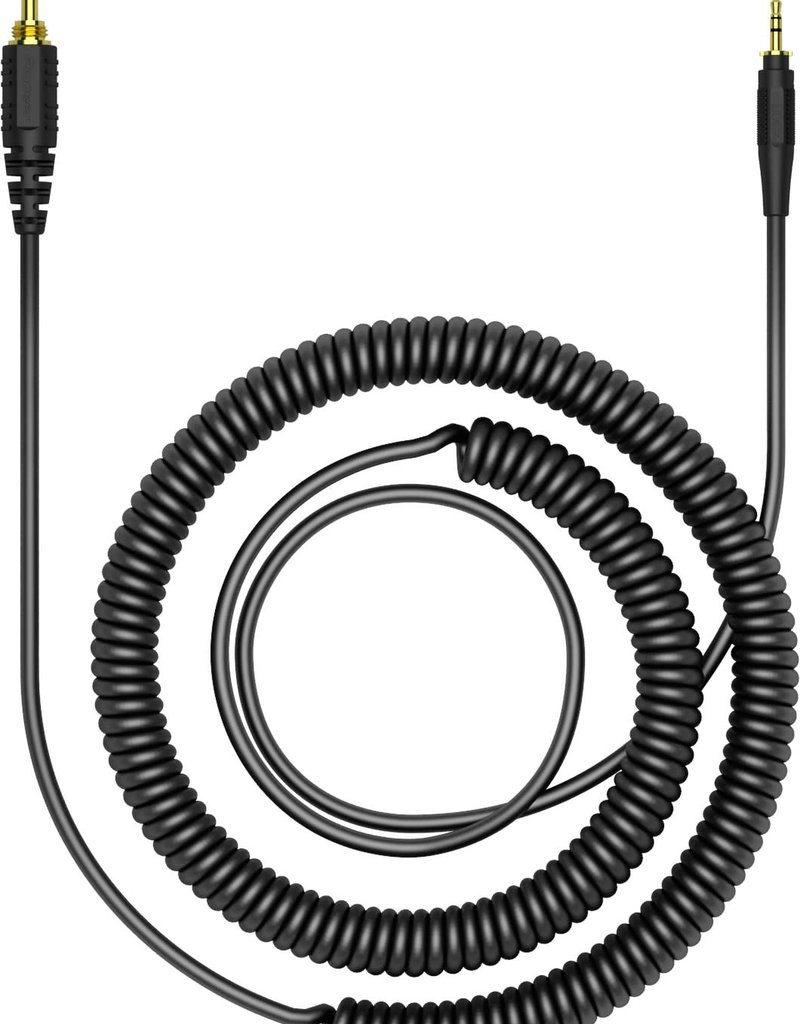 "HC-CA0401 47.24"" Coiled Cable for HRM-7, HRM-6, HRM-5 Headphones - Pioneer DJ"