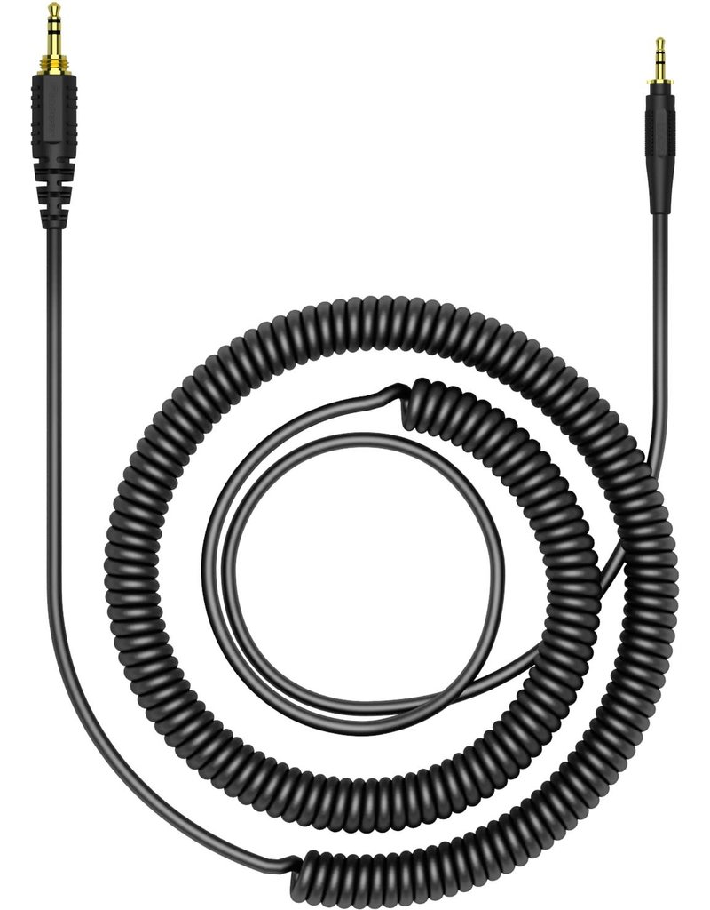 """HC-CA0401 47.24"""" Coiled Cable for HRM-7, HRM-6, HRM-5 Headphones - Pioneer DJ"""