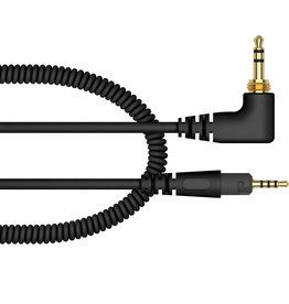 "Pioneer Replacement Cable for HDJ-S7 Headphones (Black, Coiled, 47.24"")"