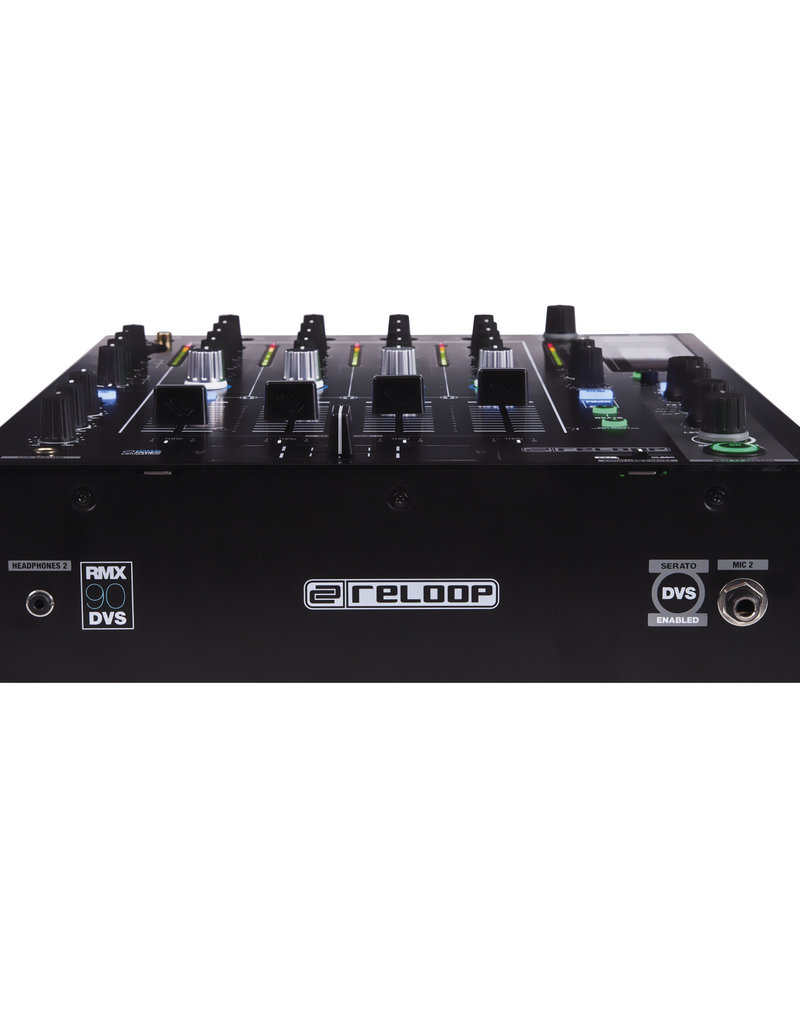 Reloop RMX-90 DVS Digital Club Mixer with DVS Audio Interface for Serato DJ