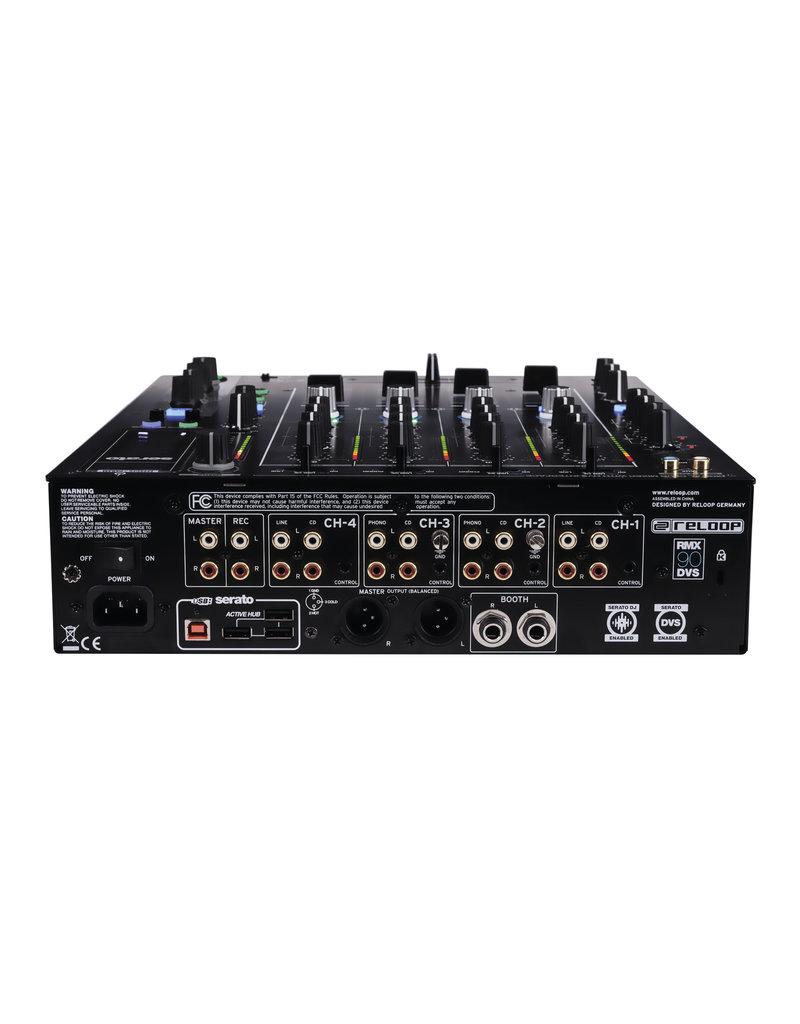Reloop AMS-RMX-90 DVS Digital Club Mixer with DVS Audio Interface for Serato DJ