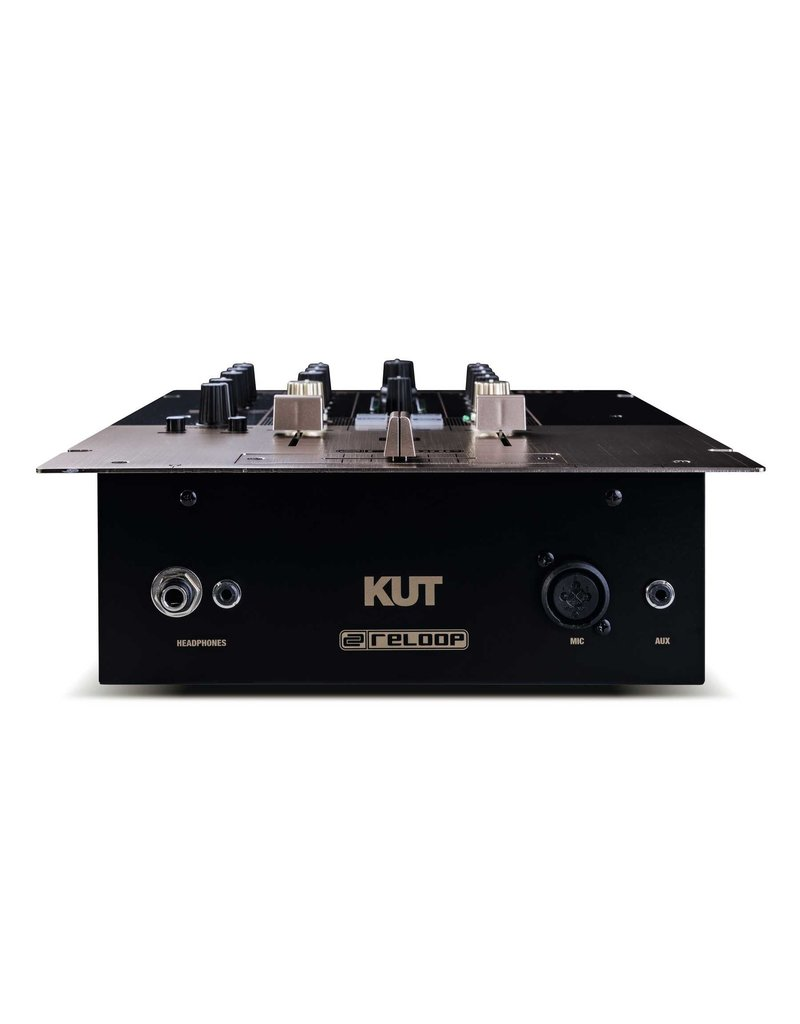 Reloop KUT 2+1 Channel DJ Battle Mixer w/ Digital Audio Architecture and Integrated Sound Colour Effects