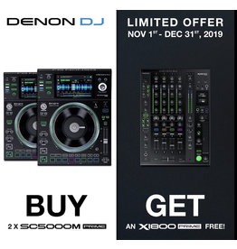 Buy 2x DENON SC5000M Get 1x DENON X1800 Prime FREE