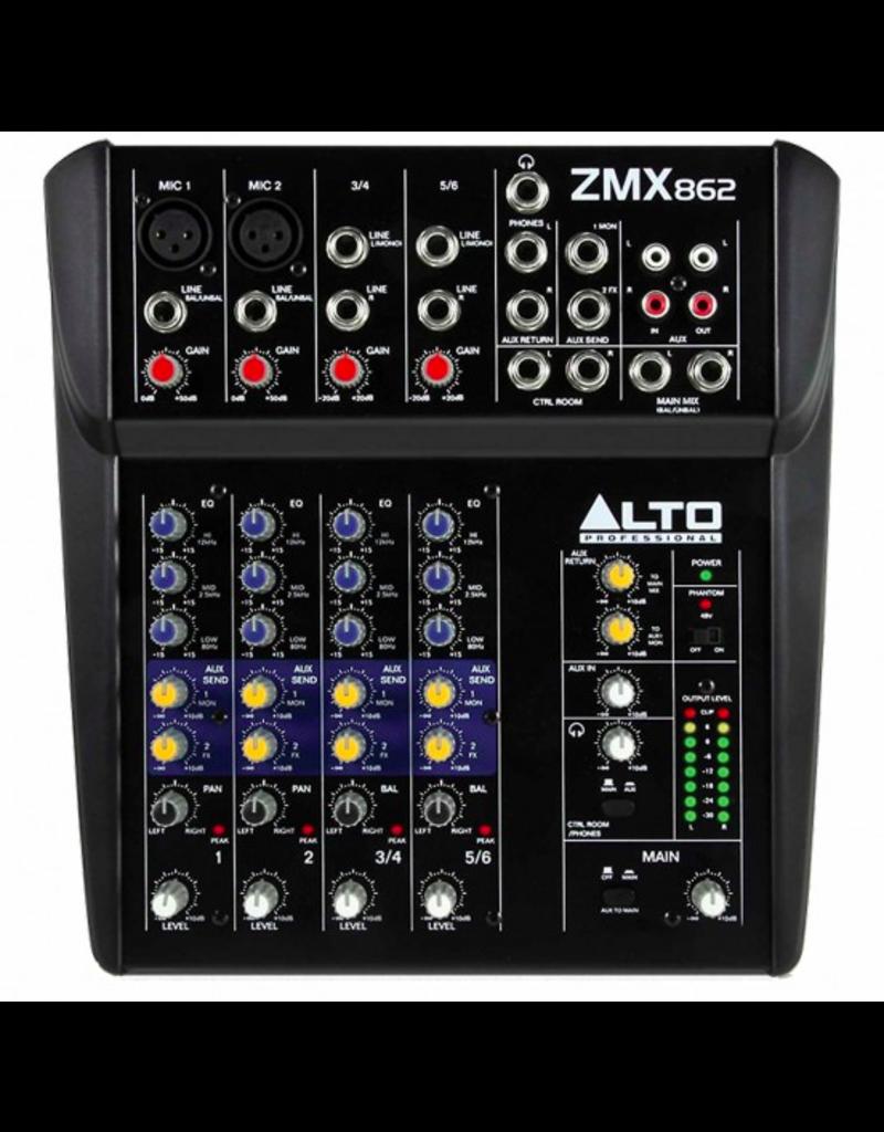 Zephyr ZMX862 6-Channel Compact Mixer - Alto Professional