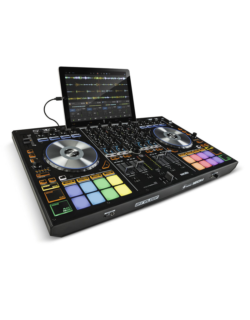 Reloop AMS-MIXON-4 Controller for Serato DJ (enabled) and Algoriddim djay PRO