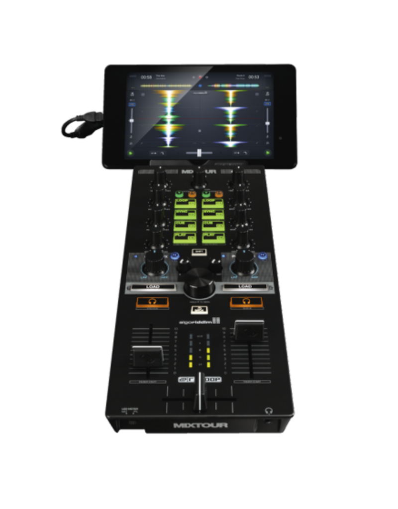 Reloop MIXTOUR Portable Cross-Platform All in One DJ Controller