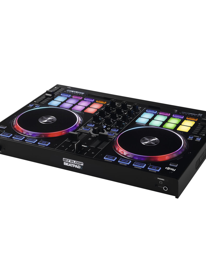 Reloop BEATPAD 2 Channel DJ Midi Controller for iPad