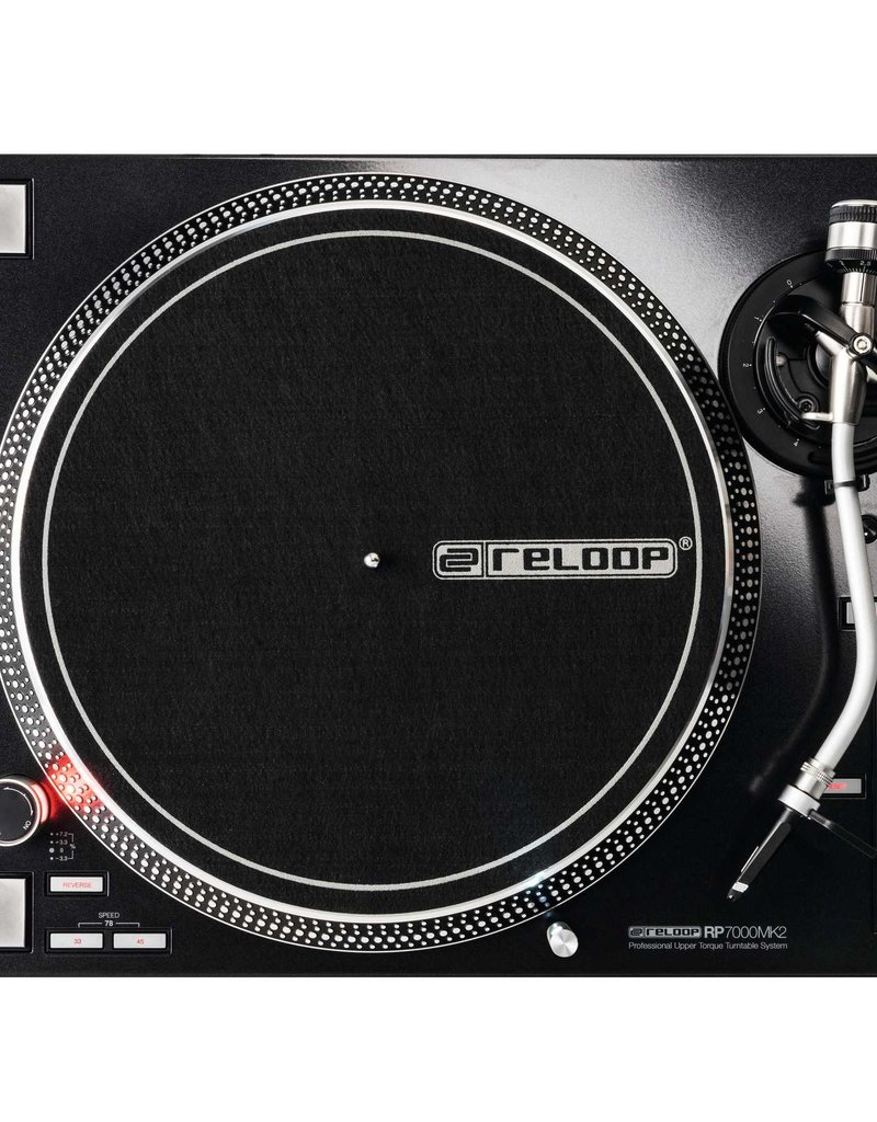 Reloop RP-7000 MK2 Direct Drive High Torque Turntable (Black)