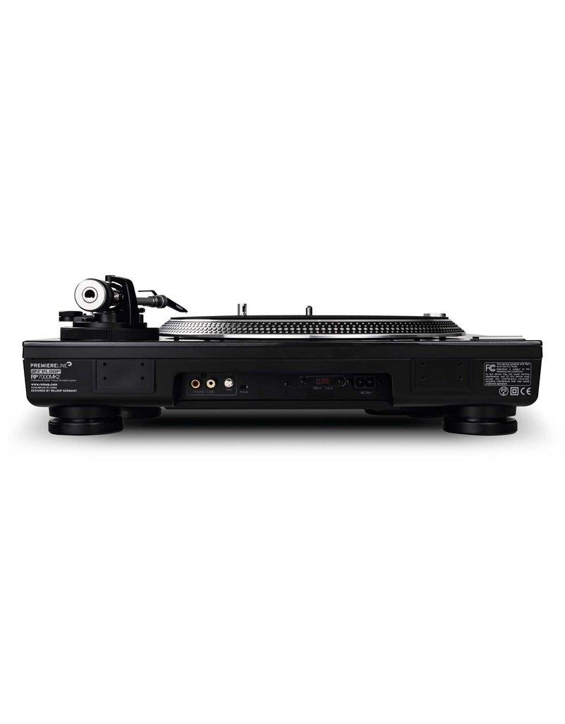 Reloop RP-7000 MK2 Direct Drive High Torque Turntable (Black)