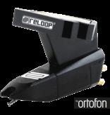 Reloop OM BLACK Turntable Stylus Cartridge with Headshell Mounting