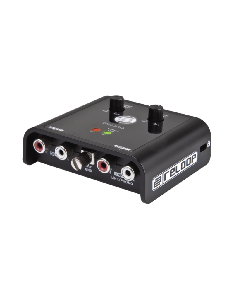 Reloop AMS-IPHONO-2 Iphono Recording USB Interface