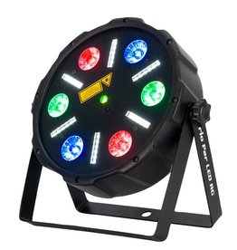 Eliminator Eliminator Lighting Trio Par LED RG Color Mixing 3 in 1 Laser/Strobe/Wash