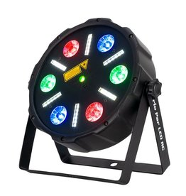 Eliminator Trio Par LED RG Color Mixing 3 in 1 Laser/Strobe/Wash - Eliminator Lighting